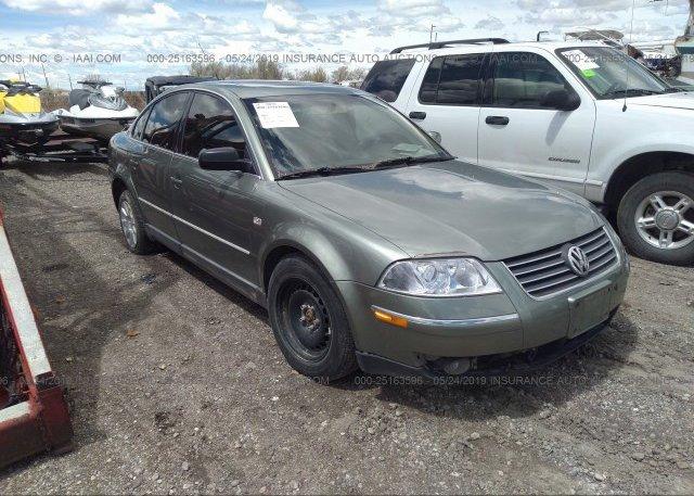 Inventory #863131264 2002 Volkswagen PASSAT