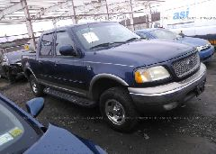 2002 FORD F150 - 1FTRW08L12KD35490 Left View