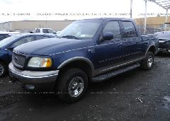 2002 FORD F150 - 1FTRW08L12KD35490 Right View