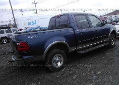 2002 FORD F150 - 1FTRW08L12KD35490 rear view