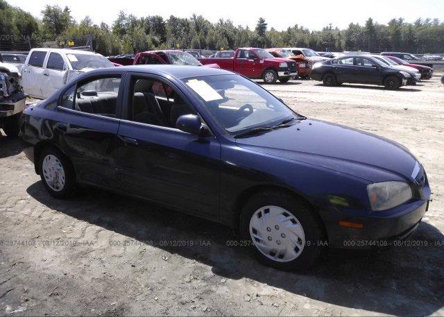 Inventory #893861607 2005 Hyundai ELANTRA