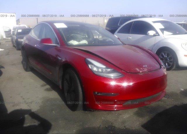 Inventory #742747990 2018 Tesla MODEL 3