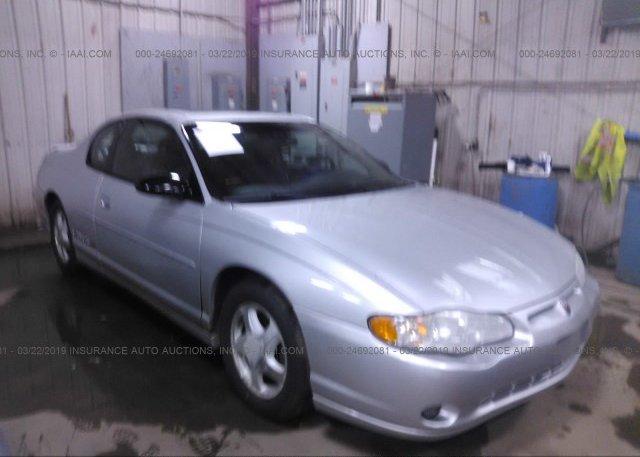 Inventory #464920741 2002 Chevrolet MONTE CARLO