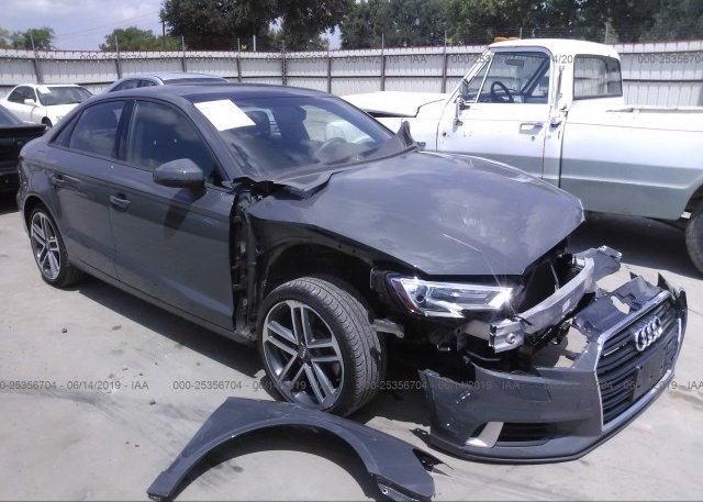WAUEFGFF5F1025341, Salvage Certificate black Audi A3 at SAN