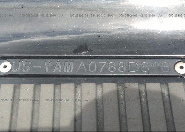2016 YAMAHA FX-CRUISER SHO - YAMA0788D616