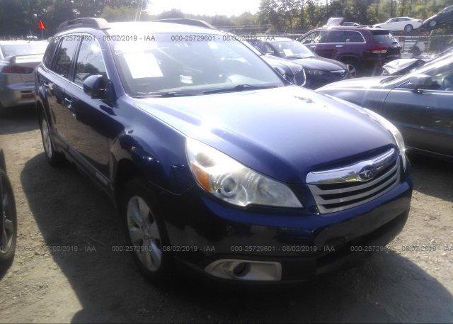 Inventory #316871882 2011 Subaru OUTBACK