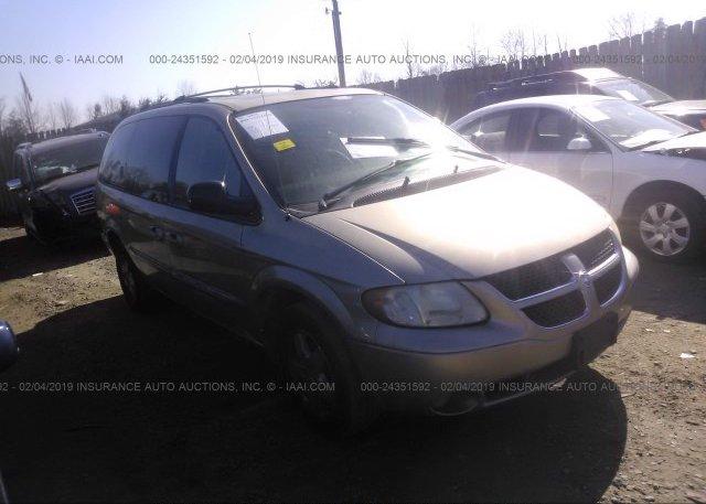 Inventory #885105314 2003 Dodge GRAND CARAVAN