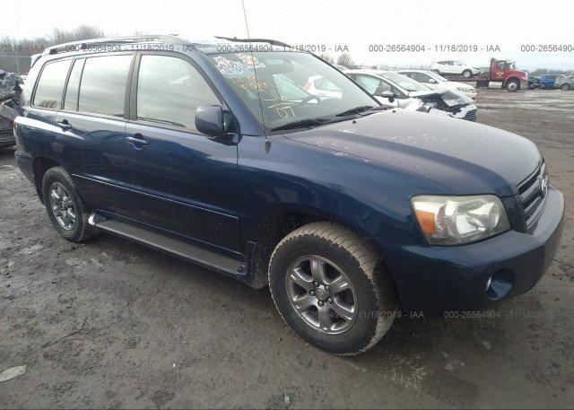 Inventory #253739457 2007 Toyota HIGHLANDER
