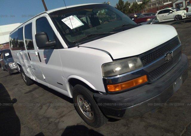 Inventory #830204223 2004 Chevrolet EXPRESS G3500