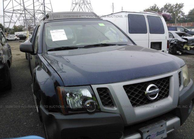 5n1an08w19c502828 Salvage Blue Nissan Xterra At Bridgeport Pa On