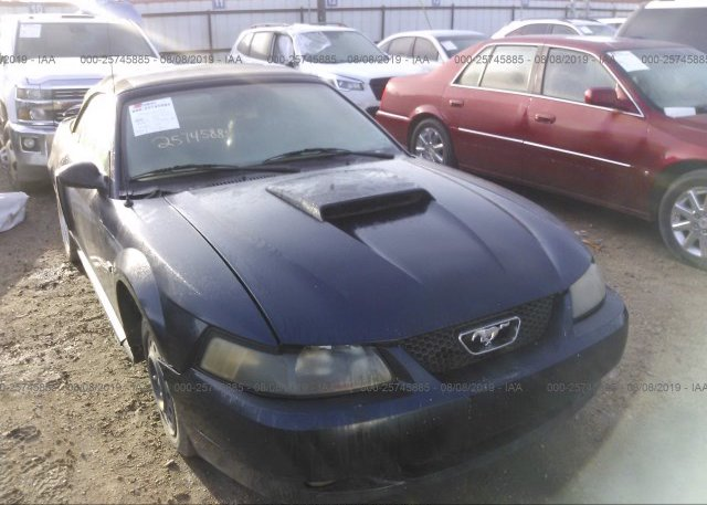 Inventory #850532332 2002 FORD MUSTANG