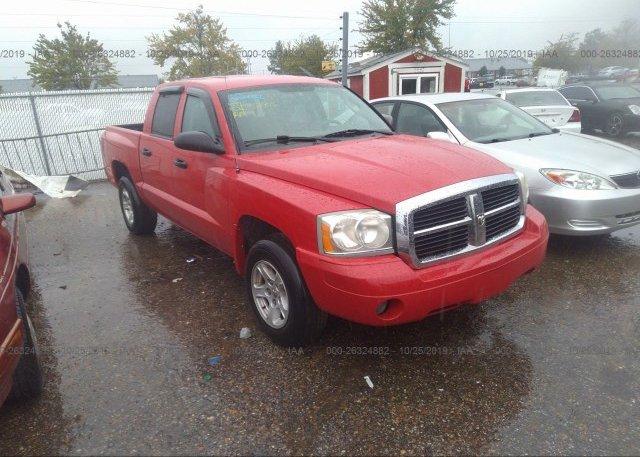 Inventory #535237322 2007 Dodge DAKOTA