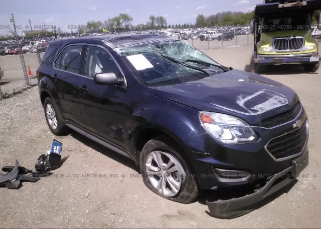Inventory #161530110 2016 Chevrolet EQUINOX