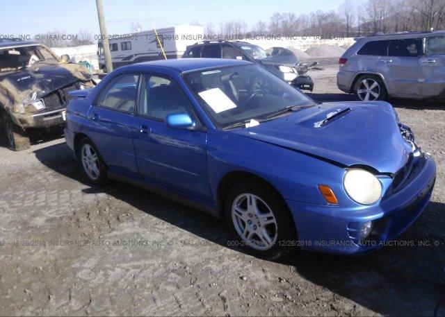 Inventory #980759073 2003 Subaru IMPREZA