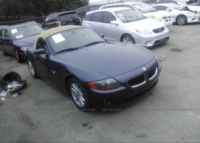 Inventory #600101226 2004 BMW Z4