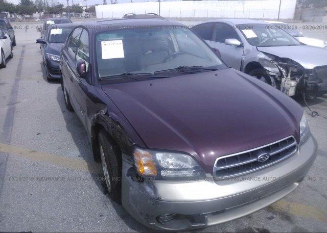 Inventory #211904018 2001 Subaru LEGACY