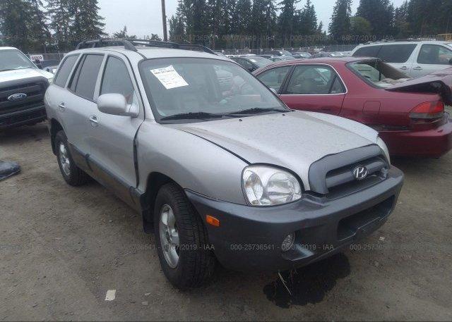 Inventory #899824621 2005 Hyundai SANTA FE