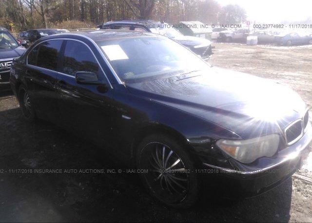 Inventory #540565030 2003 BMW 745