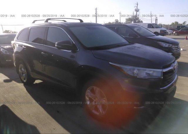 Inventory #470599395 2014 Toyota HIGHLANDER