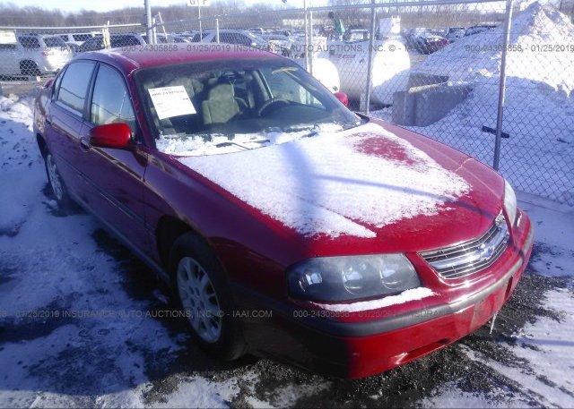 Inventory #189661425 2004 Chevrolet IMPALA