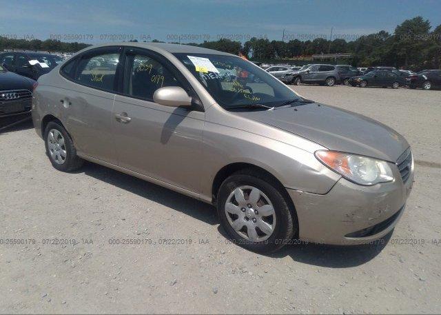 Inventory #914315675 2008 Hyundai ELANTRA