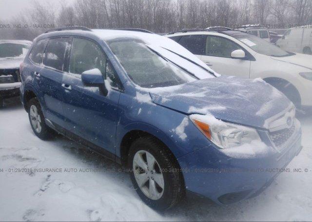 Inventory #411108656 2015 Subaru FORESTER
