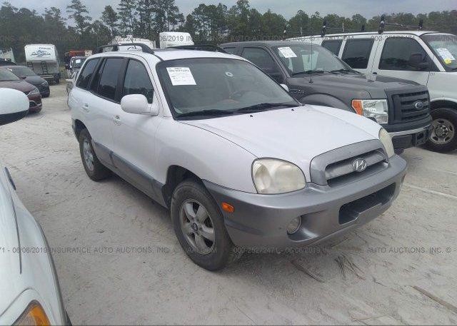 Inventory #687355262 2006 Hyundai SANTA FE