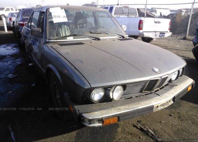 Inventory #494250547 1987 BMW 528