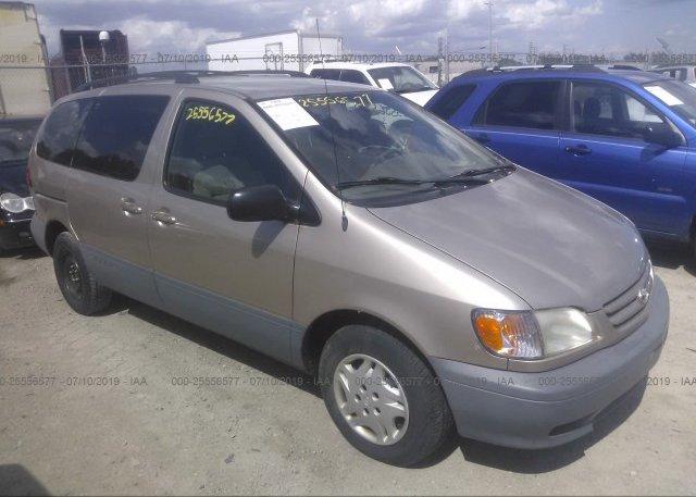 Inventory #167220765 2002 Toyota SIENNA