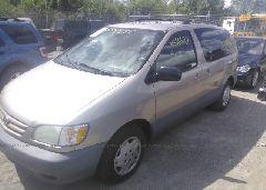2002 Toyota SIENNA - 4T3ZF19C52U463095 Right View