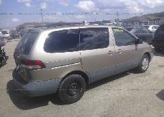 2002 Toyota SIENNA - 4T3ZF19C52U463095 rear view