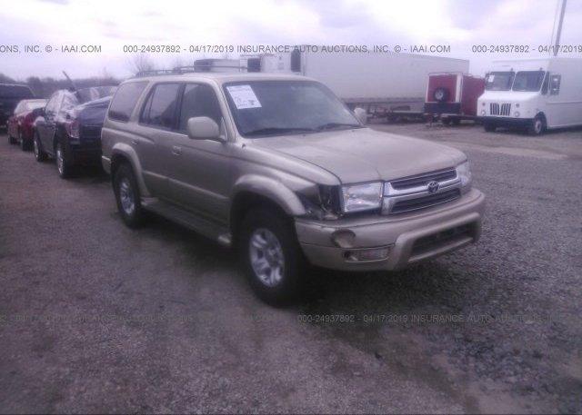 Inventory #699716335 2002 Toyota 4RUNNER