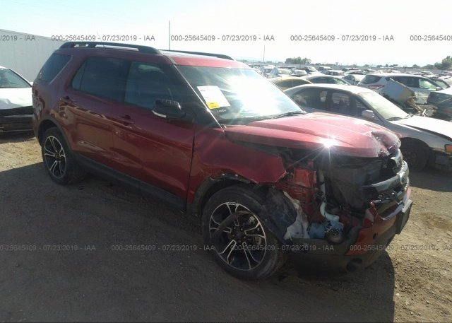 Inventory #848459692 2015 FORD EXPLORER