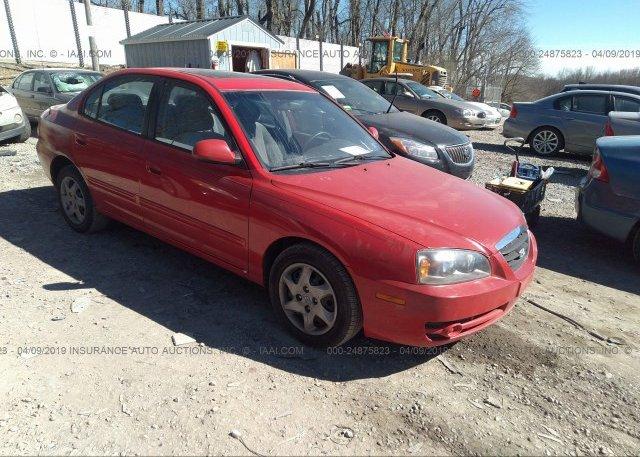 Inventory #942459608 2004 Hyundai ELANTRA