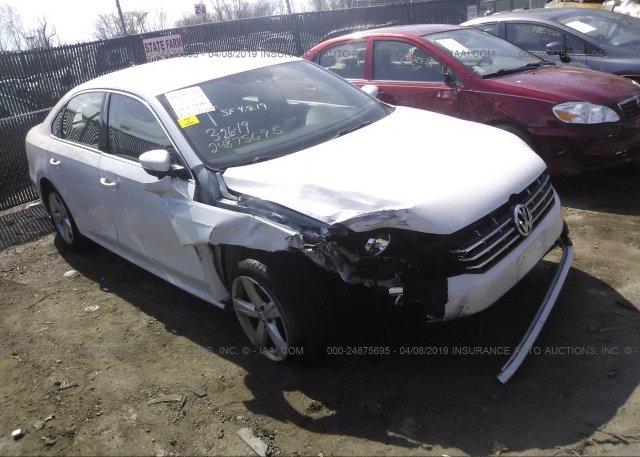 Inventory #921606450 2015 Volkswagen PASSAT