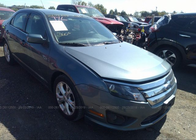 Inventory #825460562 2012 FORD FUSION