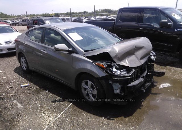 Inventory #673493858 2015 Hyundai ELANTRA