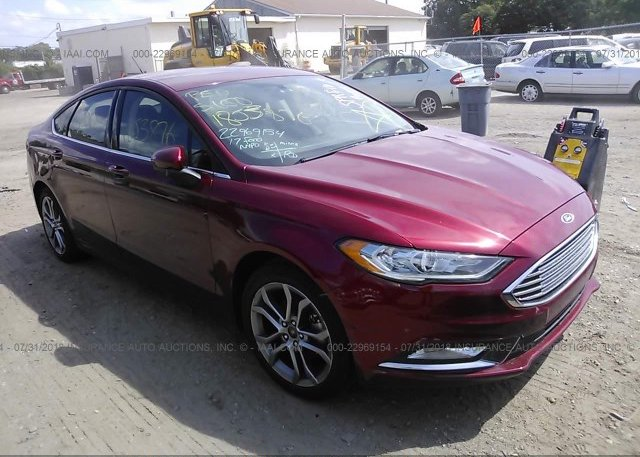 Inventory #541843655 2017 FORD FUSION
