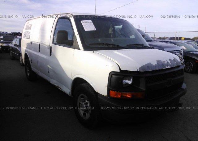 Inventory #436649100 2008 Chevrolet EXPRESS G2500