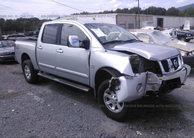 1n6aa07b44n568914 Salvage Silver Nissan Titan At Chattanooga Tn On