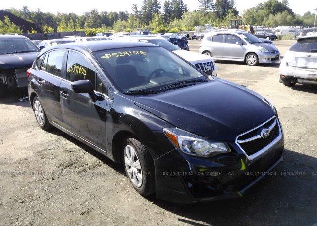 Inventory #540924304 2015 Subaru IMPREZA