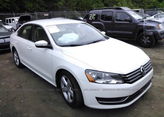 Inventory #887615977 2013 Volkswagen PASSAT