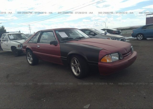 Inventory #207196596 1993 FORD MUSTANG