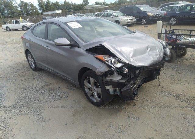 Inventory #611387791 2013 Hyundai ELANTRA