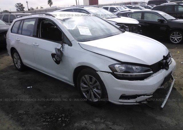 Inventory #817412146 2018 Volkswagen GOLF SPORTWAGEN