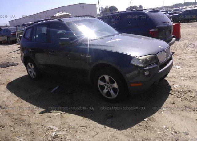 Inventory #534171355 2007 BMW X3