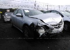 2010 MAZDA 6 - 1YVHZ8BH8A5M54537 Left View