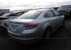 2010 MAZDA 6 - 1YVHZ8BH8A5M54537 rear view