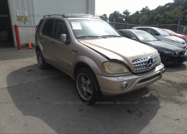 Inventory #487422323 2001 Mercedes-benz ML