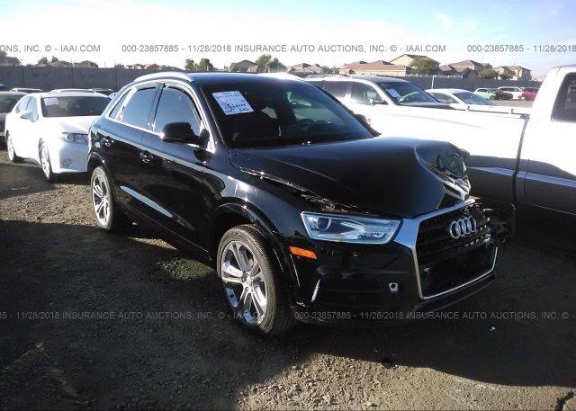 Wa1bfcfs2gr012507 Salvage Black Audi Q3 At Phoenix Az On Online